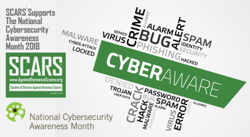 SCARS Supports The National Cybersecurity Awareness Month 2018