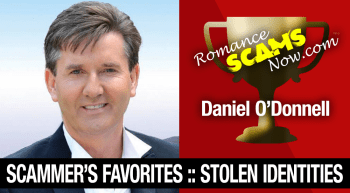 Stolen Face / Stolen Identity – Daniel O'Donnell : Do You Know Him?