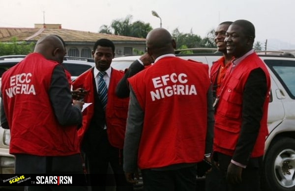 Nigeria's EFCC Economic and Financial Crimes Commission Officers