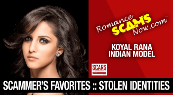 Stolen Face / Stolen Identity – Koyal Rana : Have You Seen Her?