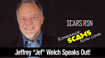 Jeffrey Jef Welch Speaks Out Against Scammers [VIDEO]