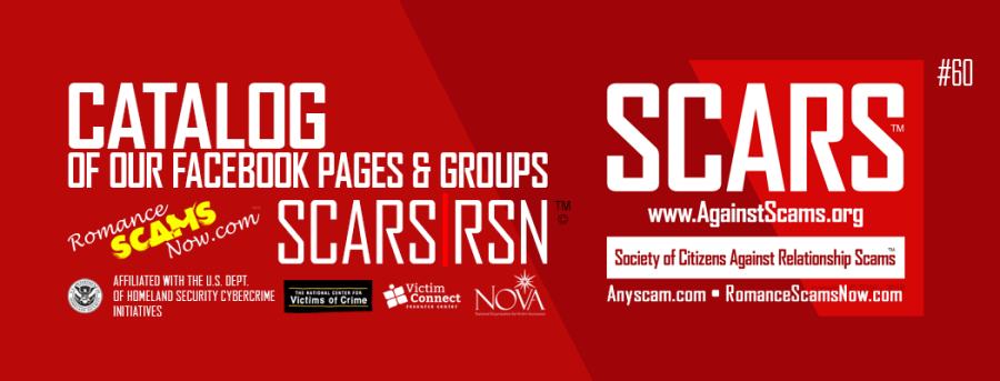 SCARS / RSN FB Pages & Groups Catalog ::: a Romancescamsnow.com page #60