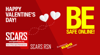 Happy Valentine's Day - Be Safe Online Today