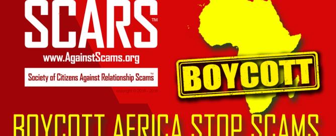 Boycott Africa Stop scams