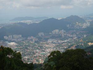 Penang : gratte-ciels & jungle