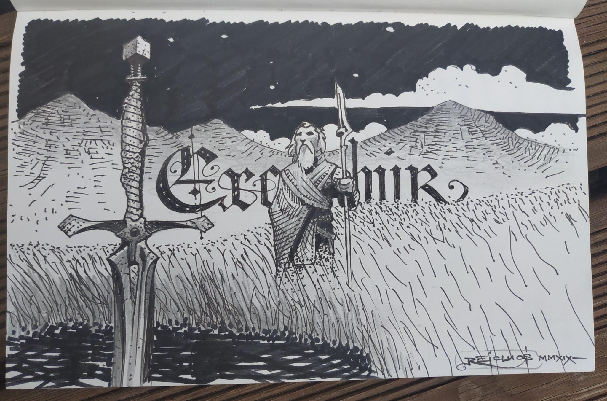 Excalibur en Indonésie (dessin)