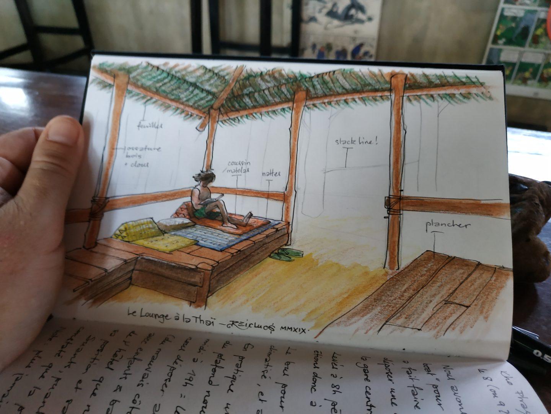 """Les bars-restaurants """"lounge"""" à Tonsaï, Thaïlande"""