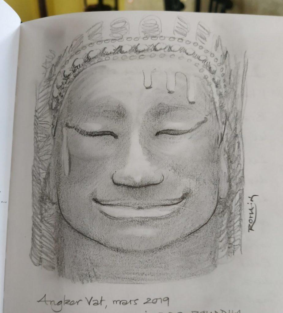 Angkor Wat : le secret du sourire de Bouddha