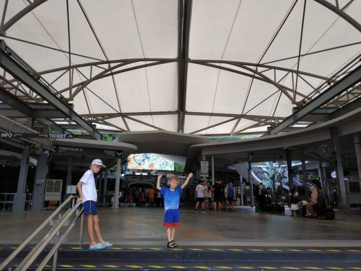 """La gare """"basse"""" du funiculaire de Penang Hill"""