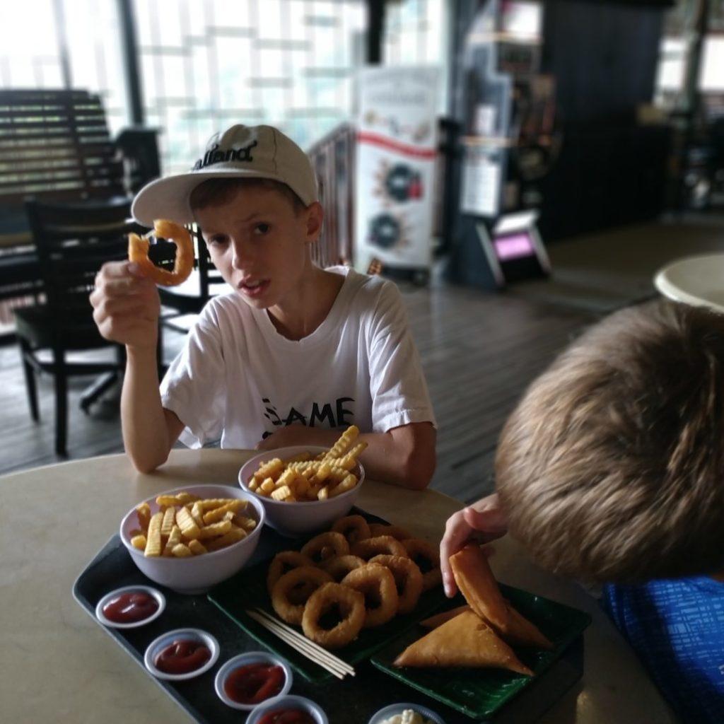Penang Hill : un vrai repas de bonhomme