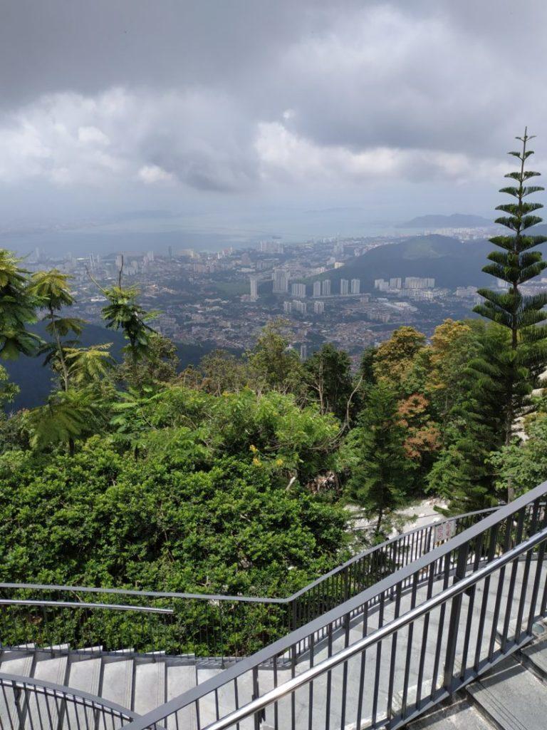 Penang Hill : GeorgeTown vue de haut
