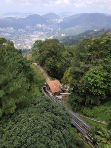 Le funiculaire de Penang Hill