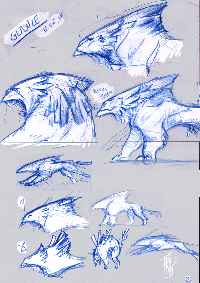 Early Beast concepts