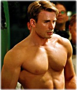 chris evans captain america superhero workout