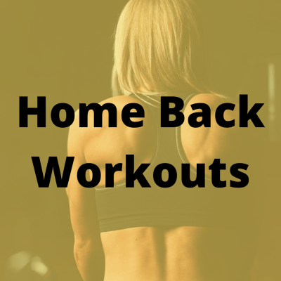 Best Back Workouts At Home