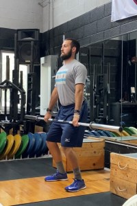 hang power clean power position