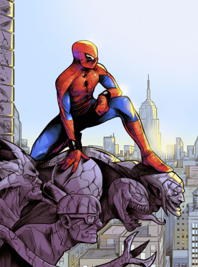 Spiderman's hip mobility