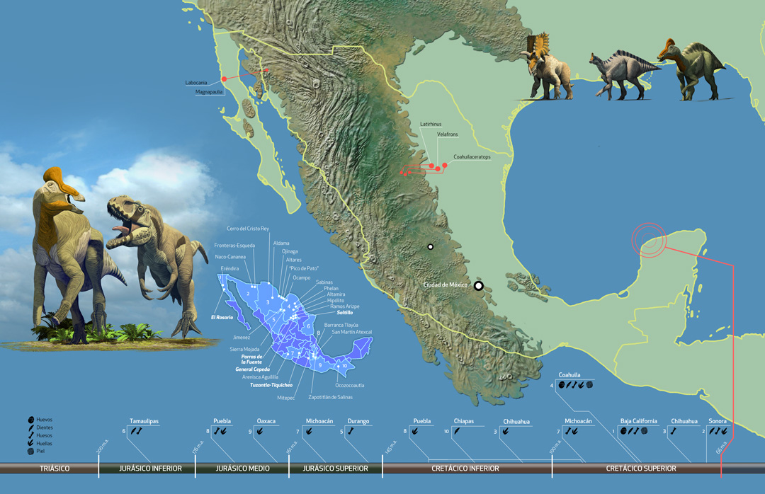 Mexican Dinosaurs Quo Magazine August 2013  Romn