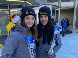 FELICITĂRI! Andreea Grecu şi Ioana Gheorghe, medalie de argint la bob, la Campionatul European 12