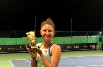 FELICITĂRI! Irina Begu a câştigat turneul ITF de la Cairo şi va reveni în Top 100 WTA 37