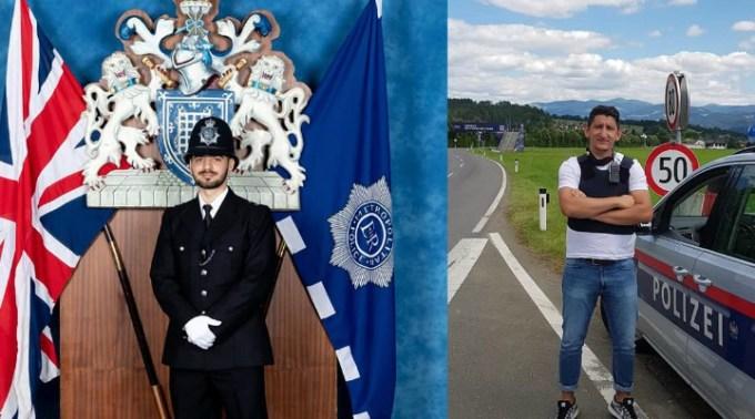 Florin este polițist în UK, iar Marko este polițist în Austria. Ce au în comun băieții ăștia? Ambii sunt români și sunt foarte apreciați de către colegi 1