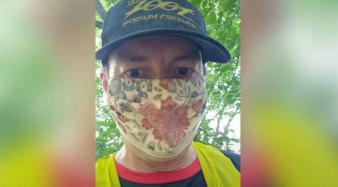 """Un medic din Anglia a alergat cu masca pe față 35 de kilometri ca să vadă dacă mai poate respira. """"M-au enervat"""" 1"""
