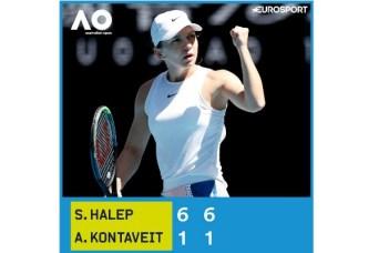 FELICITĂRI! Simona Halep, ce scrie presa intrenațională despre victorie și calificarea în semifinale la Australian Open 6
