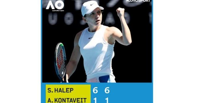 FELICITĂRI! Simona Halep, ce scrie presa intrenațională despre victorie și calificarea în semifinale la Australian Open 1