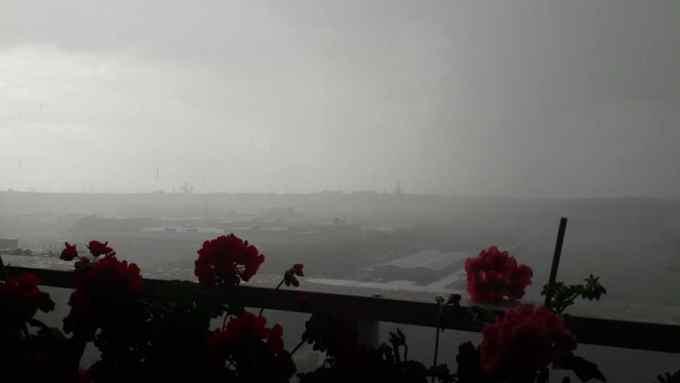 """(Foto) Româncă din Belgia: """"La Bruxelles ninge de câteva minute bune. Mai acum câteva ore strălucea soarele si erau in jur de 20 de grade Celsius....Poate ne mai explica o dată d...l acela de președinte american cum ca încălzirea globala e doar o ..."""" 1"""