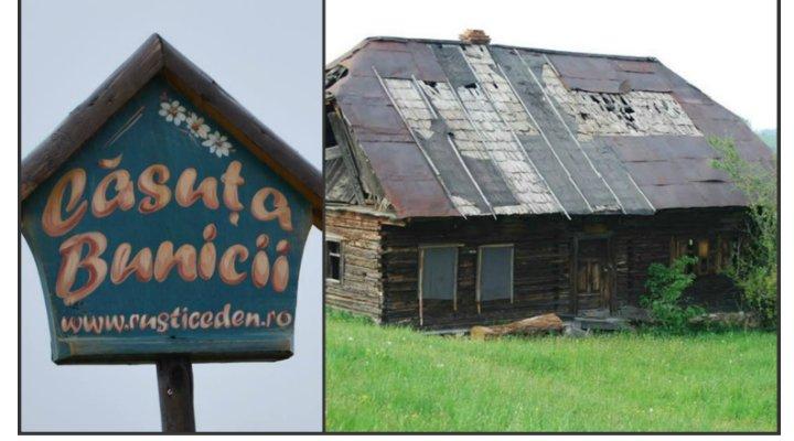 (FOTO) Căsuţa Bunicii. Un român a renovat această casă veche din 1910 și a făcut o pensiune. Vezi cum arată acum: 2