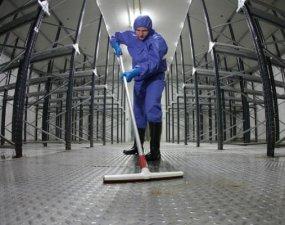 """Nu în România, în  Irlanda de Nord. Un preot român muncește la curățenie ca să își completeze veniturile. Părintele Clepea: """"Munca trebuie făcută cu inima"""" 12"""