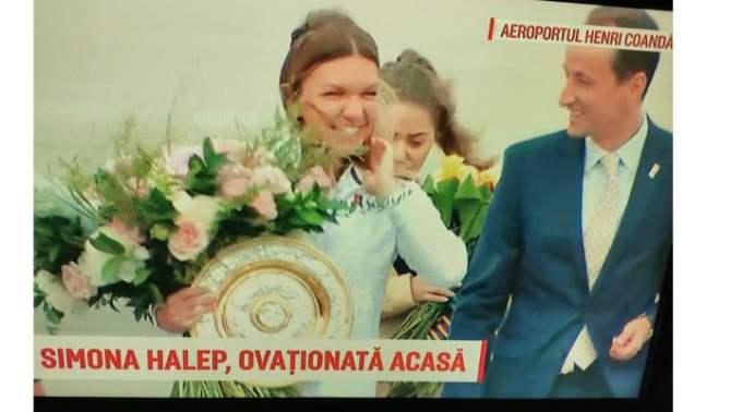 (Video) Simona Halep a revenit in România! Gabriela Firea ii organizează un eveniment la Arena Națională, la fel ca după câștigarea Roland Garros! 2