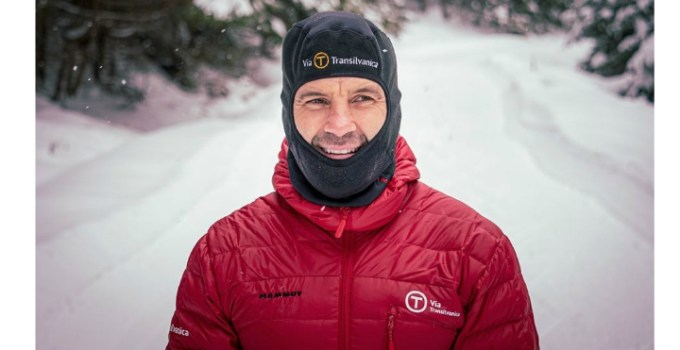 """Tibi Ușeriu aproape de finalul cursei de la Cercul Polar. Au mai rămas doar doi concurenți. Mani Gutau: """"6 zile, 4 ore si 35 de minute. Aproape 450 de kilometri lasati in urma. Incet, dar sigur, Tibi se apropie de ultimul checkpoint. Au mai ramas ..."""" 3"""