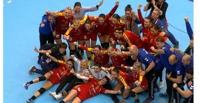 """(Video) Golul victoriei! FELICITĂRI! România, victorie în ultimele secunde cu Ungaria! Cătălin Striblea: """"Când joaca fetele astea nu exista decât doua scenarii: ori arunci televizorul, ori se întâmplă ceva istoric! Bravo! Eu cred ca cel mai mare câștig este ca nu au renunțat"""" 11"""