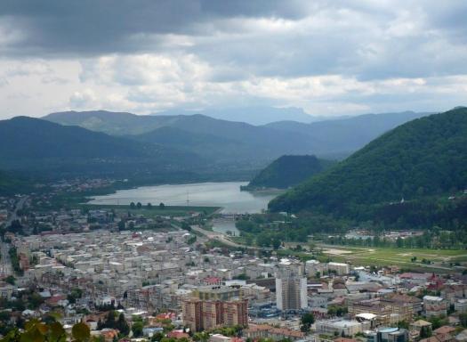 Romania Piatra Neamt city Moldova Moldavia romanian cities Carpathian mountains
