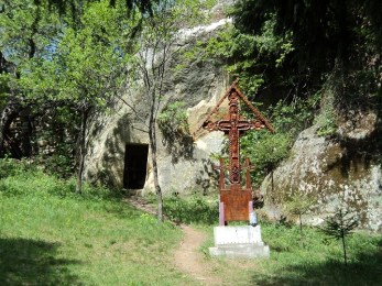 hermitage cave churches buzau romania