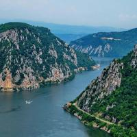Iron Gates - Danube river meets the Carpathians