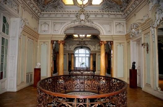Art museum interior Craiova Romania palace romanians culture arts