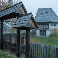 Traditional rural houses - romanian villages architecture