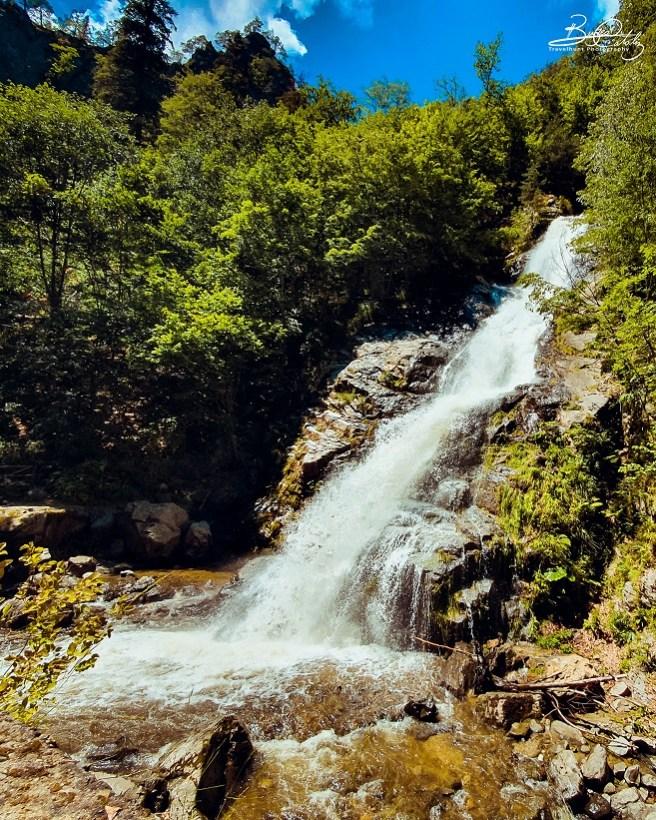 Cascada Lotrișor (Parcul Național Cozia)