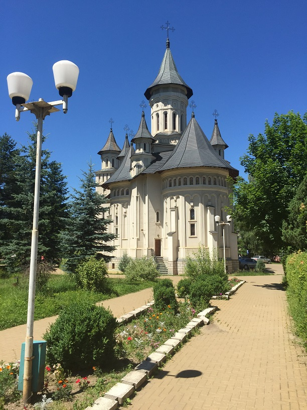 """Catedrala ortodoxă cu hramul """"Sfânta Treime"""" (Vatra Dornei, jud. Suceava)"""