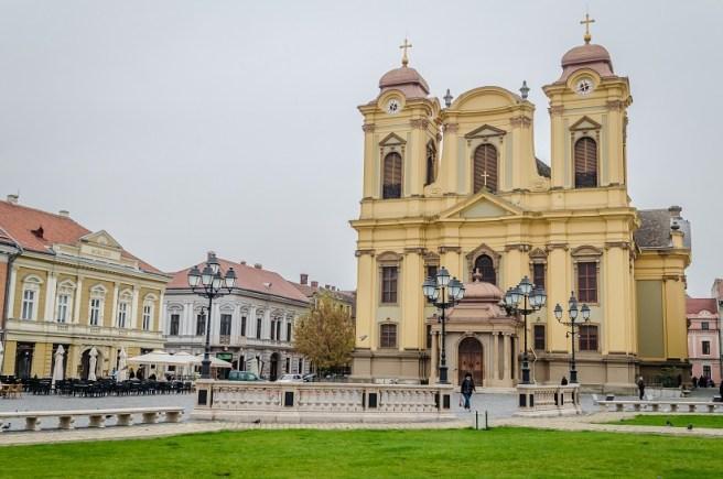 """Catedrala romano-catolică """"Sfântul Gheorghe"""" (Timișoara, jud. Timiș)"""
