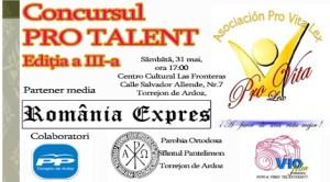 Concursul Pro Talent - Ediţia a III-a