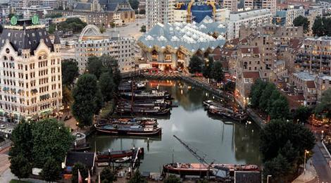 Rotterdam, desemnat 'Orașul european al anului 2015'