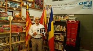 Scriitorul Sorin Bălăşcău şi-a prezentat cartea românilor din Valencia