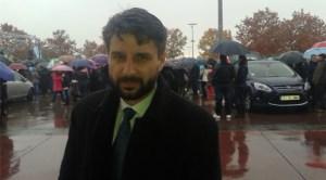 Deputatul Aurelian Mihai a ţinut să sărbătorească Ziua României cu românii din Spania