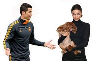Cristiano Ronaldo şi Irina Shayk