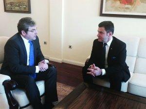 Întrevederea Comisiei cu ES Ion Vîlcu, ambasadorul României la Madrid