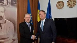 Ministrul delegat pentru relațiile cu românii de peste hotare, Angel Tîlvăr, s-a întâlnit cu ambasadorul regatului Spaniei în România