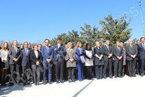 Comemorarea victimelor atentatelor teroriste din 11 martie 2004, în Parcul Retiro din Madrid